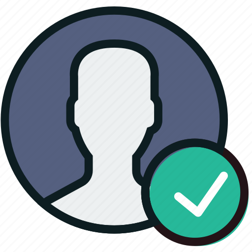 communication, interaction, interface, profile, success icon