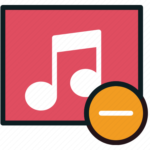 album, communication, interaction, interface, substract icon