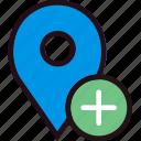 add, communication, interaction, interface, location