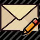 communication, edit, interaction, interface, mail