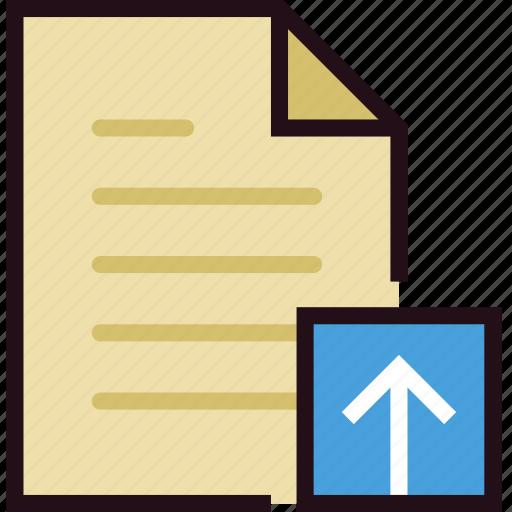 communication, file, interaction, interface, upload icon