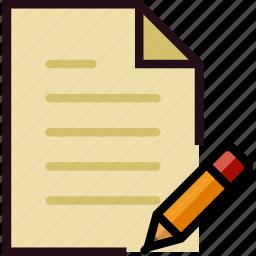 communication, edit, file, interaction, interface icon