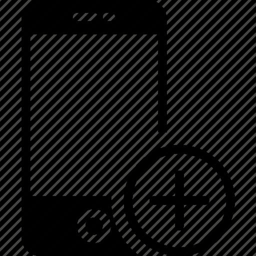 add, communication, interaction, interface, smartphone icon