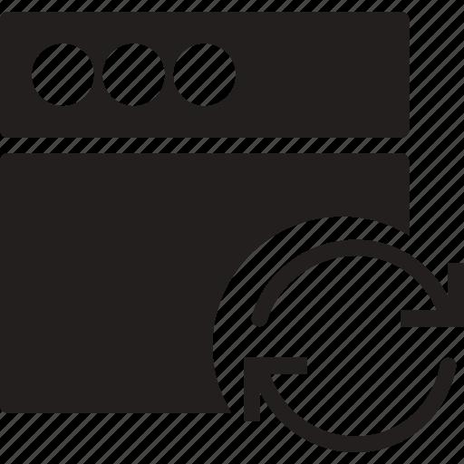 communication, interaction, interface, sync, window icon