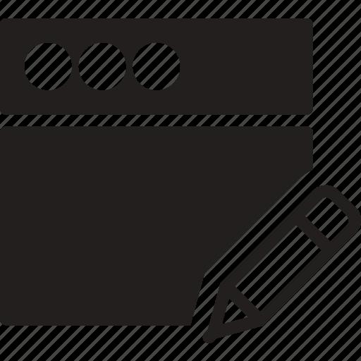 communication, edit, interaction, interface, window icon