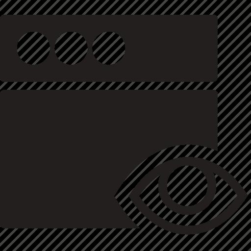communication, hide, interaction, interface, window icon