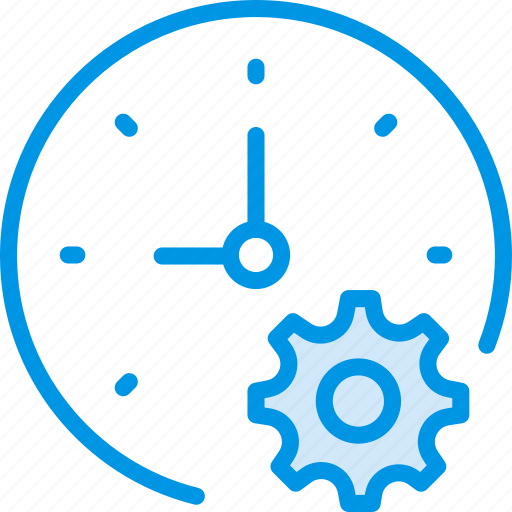 clock, communication, interaction, interface, settings icon
