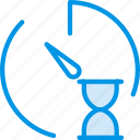communication, interaction, interface, loading, stopwatch icon