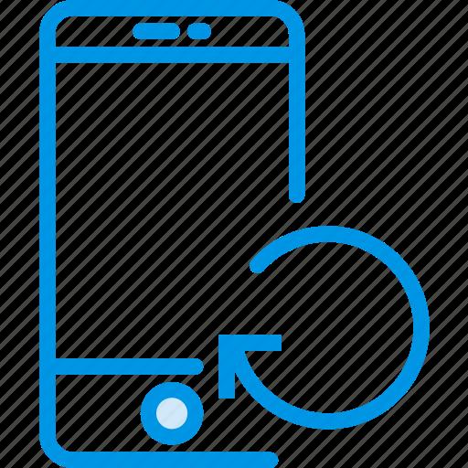 communication, interaction, interface, refresh, smartphone icon