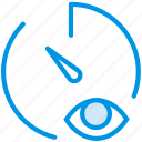 communication, hide, interaction, interface, stopwatch icon
