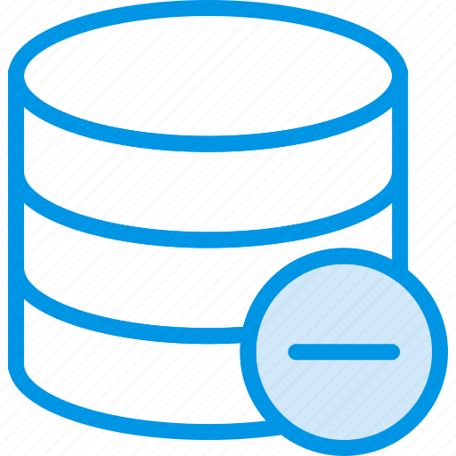 communication, database, interaction, interface, substract icon