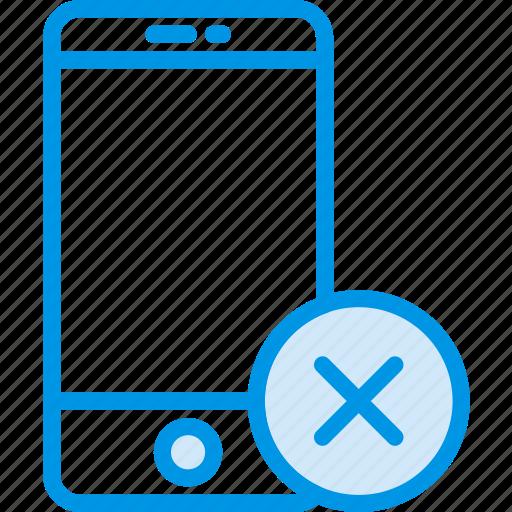 communication, delete, interaction, interface, smartphone icon