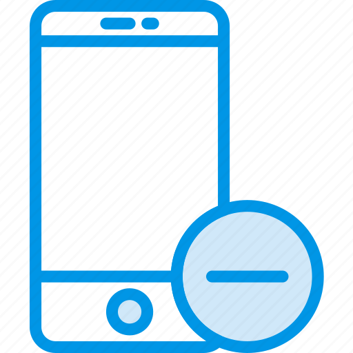 communication, interaction, interface, smartphone, substract icon
