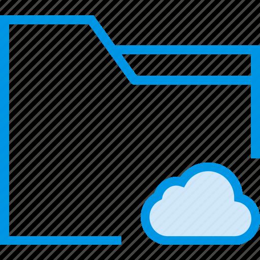 add, cloud, communication, folder, interaction, interface, to icon