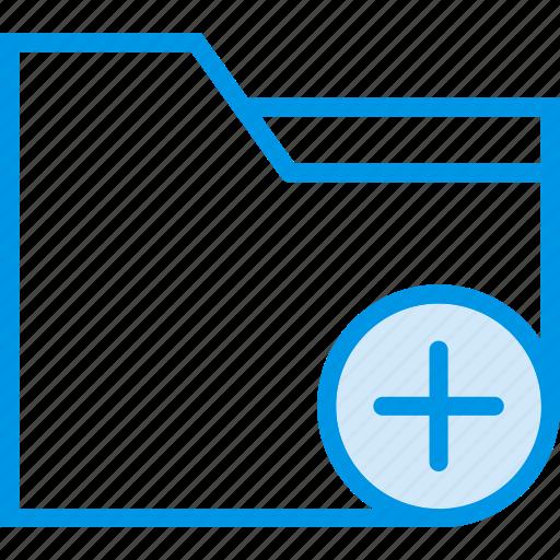 add, communication, folder, interaction, interface icon