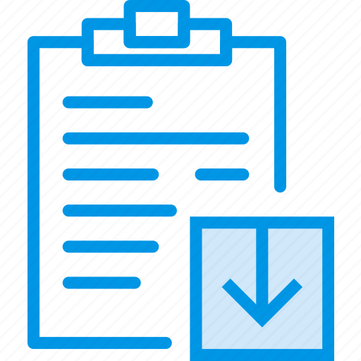 communication, download, interaction, interface, notes icon