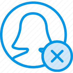 communication, delete, interaction, interface, profile icon