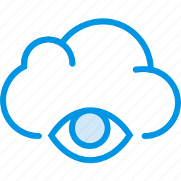 cloud, communication, hide, interaction, interface icon