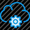 cloud, communication, interaction, interface, settings