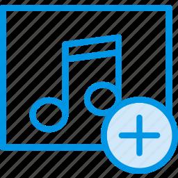 add, album, communication, interaction, interface icon