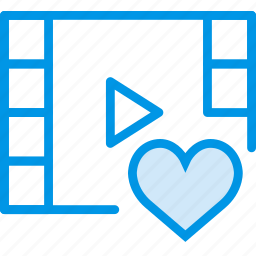communication, interaction, interface, like, video icon