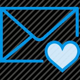 communication, interaction, interface, like, mail icon