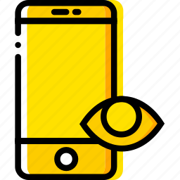 communication, hide, interaction, interface, smartphone icon
