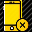 communication, delete, interaction, interface, smartphone