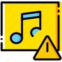 album, communication, interaction, interface, warning icon