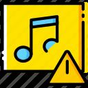 album, communication, interaction, interface, warning