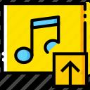 album, communication, interaction, interface, upload