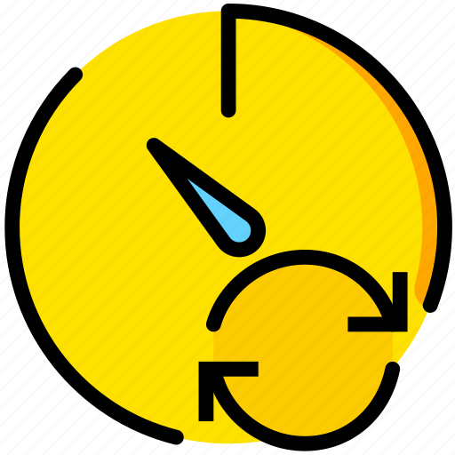 communication, interaction, interface, stopwatch, sync icon