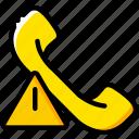 communication, interaction, interface, phonecall, warning