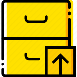 archive, communication, interaction, interface, upload icon