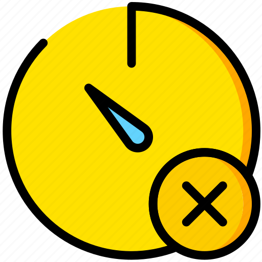 communication, delete, interaction, interface, stopwatch icon