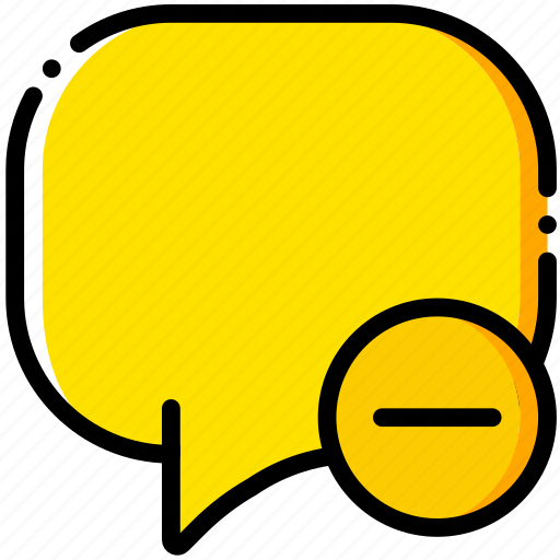 communication, conversation, interaction, interface, substract icon
