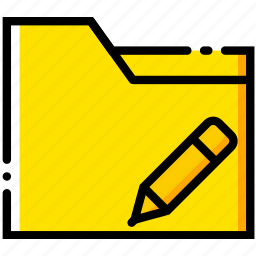 communication, edit, folder, interaction, interface icon