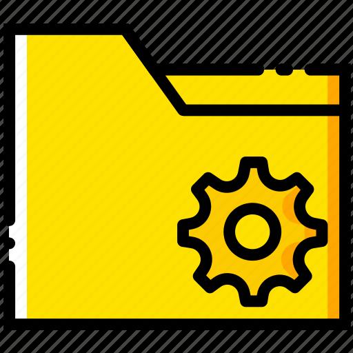 communication, folder, interaction, interface, settings icon