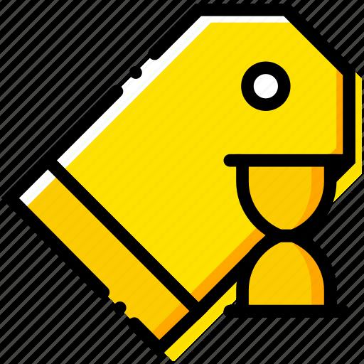 communication, interaction, interface, loading, pricetag icon
