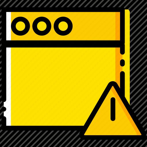 communication, interaction, interface, warning, window icon