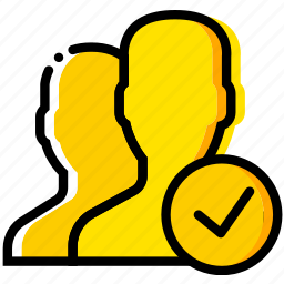 communication, interaction, interface, profiles, success icon