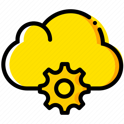 cloud, communication, interaction, interface, settings icon