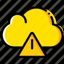 cloud, communication, interaction, interface, warning