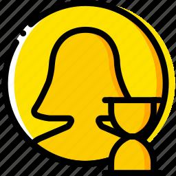communication, interaction, interface, loading, profile icon