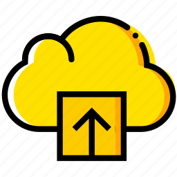 cloud, communication, interaction, interface, upload icon