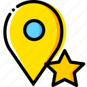 communication, favorite, interaction, interface, location icon
