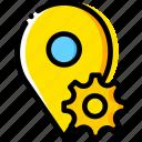 communication, interaction, interface, location, settings