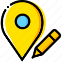 communication, edit, interaction, interface, location icon