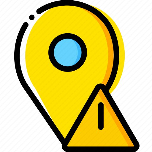 communication, interaction, interface, location, warning icon