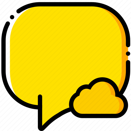 add, cloud, communication, conversation, interaction, interface, to icon